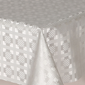 Silver Damask Squares 20m roll